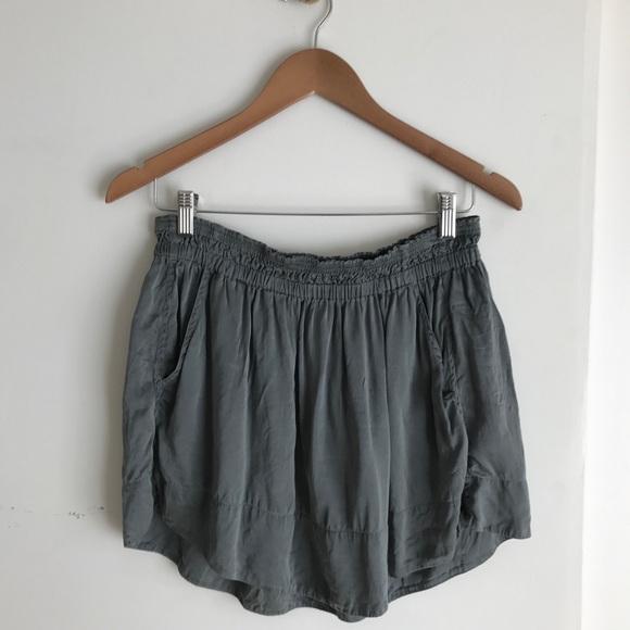 1dfac3e1c Isabel Marant Skirts   Toile Silk 2015 Slate Mini Skirt   Poshmark